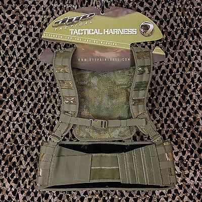 NEW Dye Tactical Assault Molle Paintball Vest Harness Pod Pack - DyeCam Camo