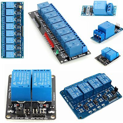 5v 1248 Channel Relay Board Module Optocoupler Led For Arduino Pic Arm Avr