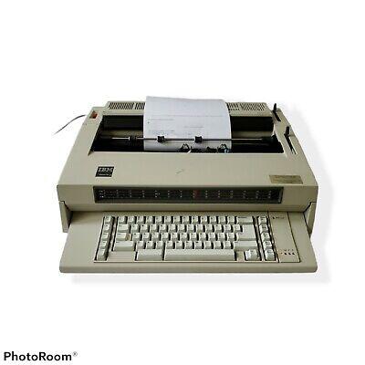 Ibm Wheelwriter 3 Iii Electronic Electric Typewriter