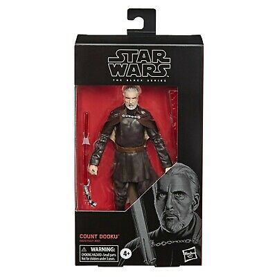 Star Wars 6 inch Black Series Count Dooku Action Figure New & MISB