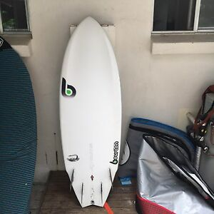5,7  EPOXY Fish Surfboard Carbon) Perfect Condition !(, Not lost, dhd) Miami Gold Coast South Preview