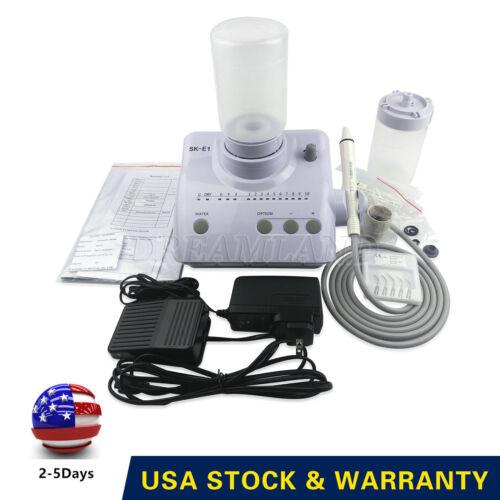 Portable Ultrasonic Piezo Scaler For EMS Woodpecker Handpiece & Tips Warranty