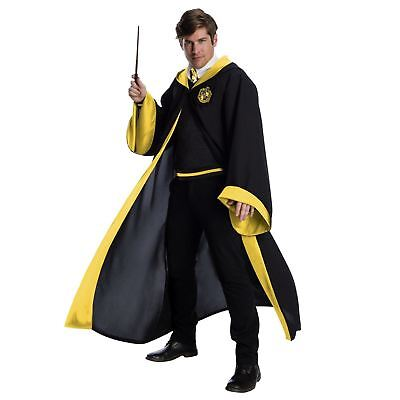 Adult Unisex Harry Potter Hogwarts Hufflepuff Student Costume Robe Uniform - Hogwarts Uniform Costume