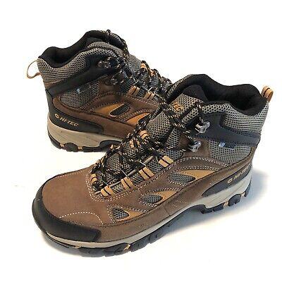 Hi-Tec Logan Mid Waterproof Hiking Boots Mens Size 11 New Breathable 9525