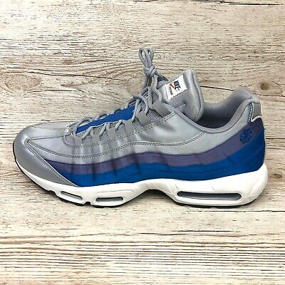 NIKE AIR MAX 95 SE PINWHEEL BLUE size UK 13 EUR 48.5 US 14 AJ2018 001 97 98