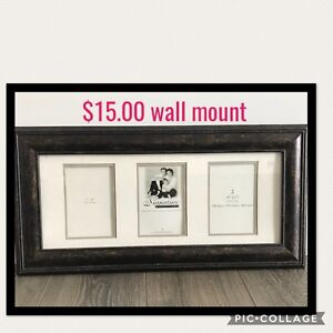 Miscellaneous rich wood picture frames