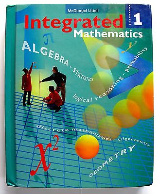 Algebra 1 Algebra 2 Geometry Math High School Textbook