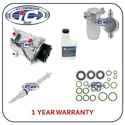 A/C Compressor Kit Fits Cadillac Deville 2000-2005 V8 4.6L 77482