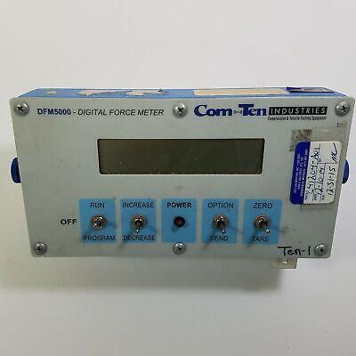 Comten Dfm5000 Digital Force Meter No Cables Untested Tensile Compression