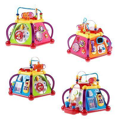 CUBE Spielzenter Babyspielzeug - 20 VERSCHIEDENE SPIELE NEU (Baby Spiele, Baby)