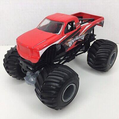 Hot Wheels Monster Jam The Destroyer Die Cast 1:24 Scale Truck