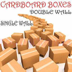 New 20 x large cardboard house moving boxes removal for Used boxes for moving house