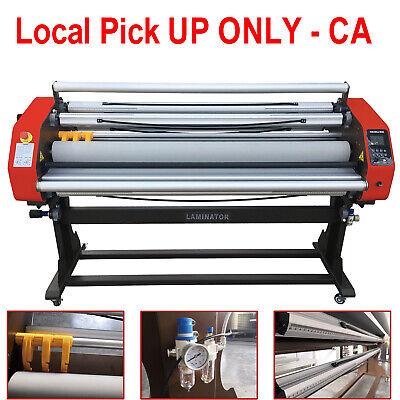 110v 1630mm 64 Automatic Hot Cold Roll Laminator Pneumatic 0-30mmin - Pick Up