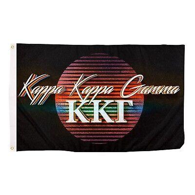 Kappa Kappa Gamma 80s Decade Flag Use as a Banner 3 x 5 Feet