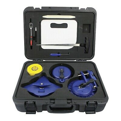 TGR 9pc Windshield Removal Tool Kit with High Strength Cutting Line  - High Windshield Kit
