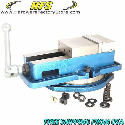 Hfsr 4 Milling Machine Lockdown Vise -swiveling Base