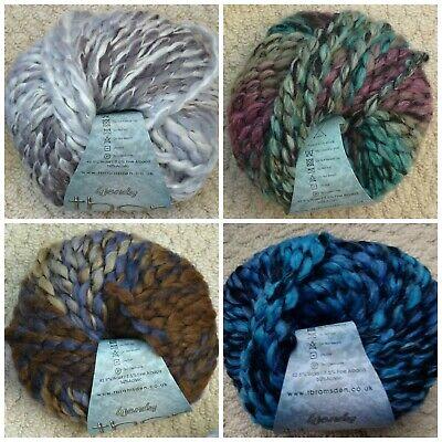 Knitting Wool 100g Thor Mega Chunky Yarn Wendy Wools inc Free Cowl Pattern