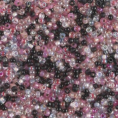 - 11/0 Elegant Evening Mix Miyuki Round Glass Seed Beads 10 grams