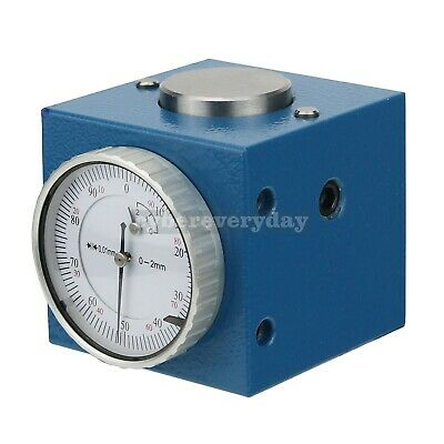 Magnetic Z Axis Tool Dial Zero Pre Setter .0004 Gage Offset Cnc Metric Range
