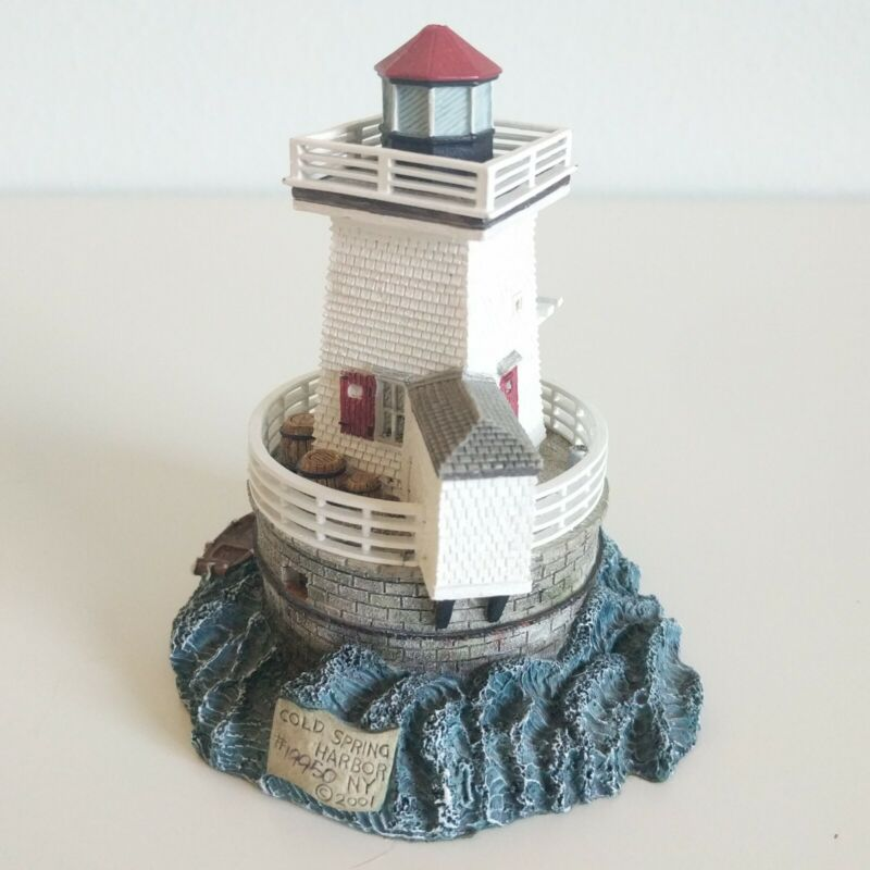 2001 Harbour Lights Cold Spring Harbor NY #533 Miniature Collectors Society