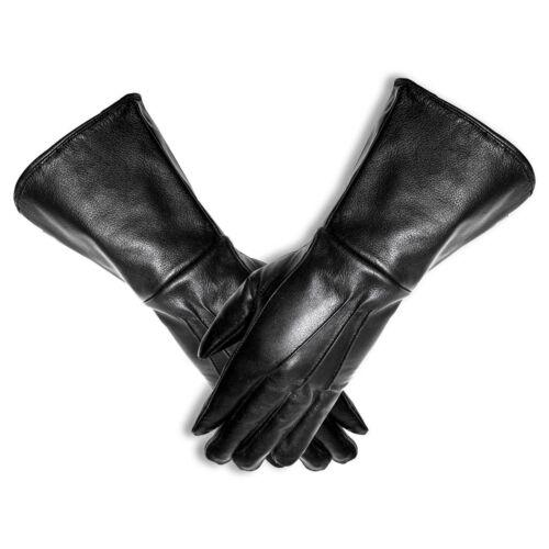 Genuine Leather Unlined TIE Fighter pilot gauntlets