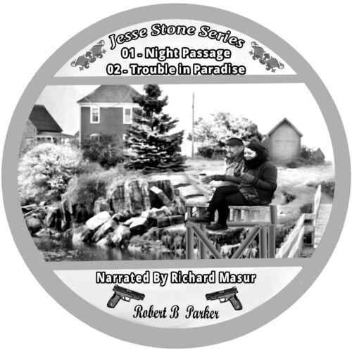 Robert B Parker Jesse Stone Series i6 auudiobooks on 8 mpp3 Cds