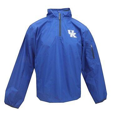 Kentucky Wildcats Official NCAA Apparel Adult Size Light Wind Breaker Pullover Kentucky Wildcats Ncaa Light