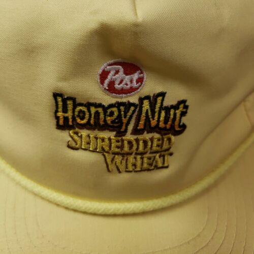 Post Honey Nut Shredded Wheat Yellow Hat/Cap