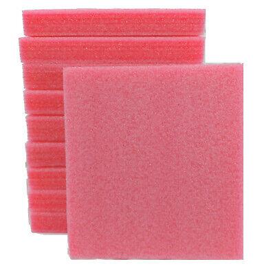 10x Anti-static Pink Foam Sheet 8.75 X 7.75 X 1-18 Pe Packing Shipping Firm