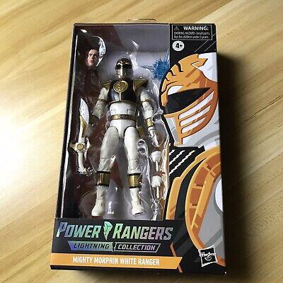 MIGHTY MORPHIN White Ranger Power Rangers Lightning collection Target Spectrum