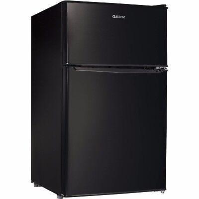 Galanz 3.1 cu ft Compact Refrigerator, Black, *BRAND NEW* Free Shipping
