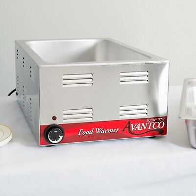 12 X 20 Full Size Electric Countertop Buffet Kitchen Food Warmer - 120v 1200w