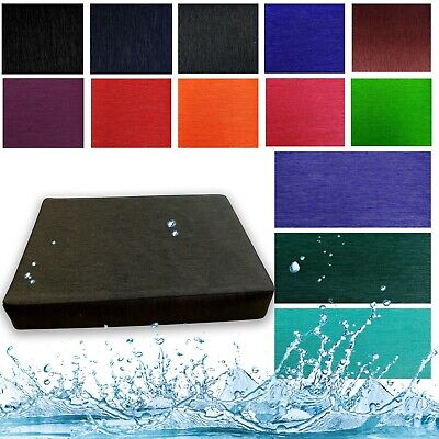 Box Shape Seat Cushion Cover *Water Proof Patio Sofa Swimming Pool Outdoor*Sg