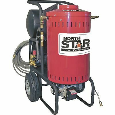Northstar Electric Wet Steam Hot Water Pressure Washer- 2700 Psi 2.5 Gpm 230v