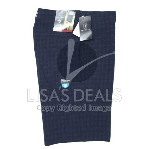 New Mens PGA Tour Golf Shorts with 5 Pockets Gray Caviar Khaki 32 34 36 38 40 42