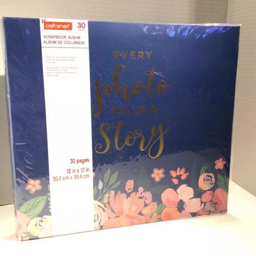 Craft Smart Scrapbook Album12x12  Every photo tells a story 30 Pages brand new