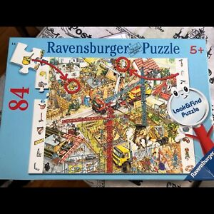 Ravensburger 5+ years Building Site 84 piece puzzle