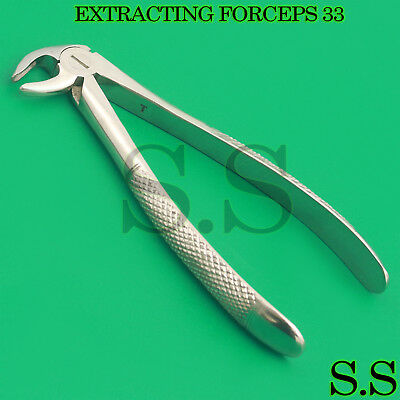 Tooth Extracting Forceps Dental Lower Roots Extraction Instruments Fig  33