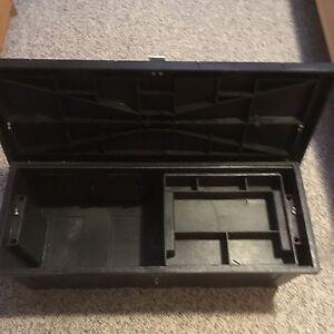 Strong black tool box