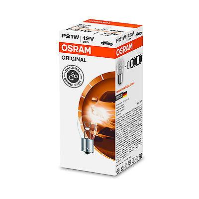 10x Genuine Osram Original 12v P21W (BA15s / 382) 21w Clear Bulbs [7506]