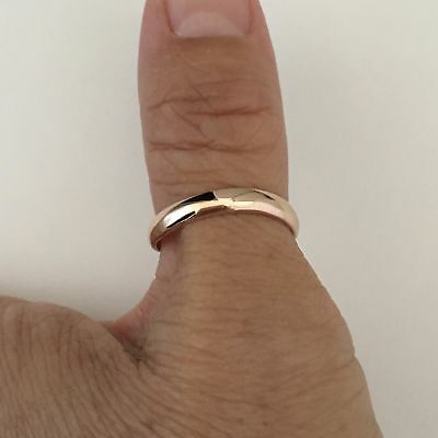 Rose Gold Plated Sterling Silver Thumb Ring, Silver Rings, Rose Gold Ring (Gold Thumb Ring Ring)