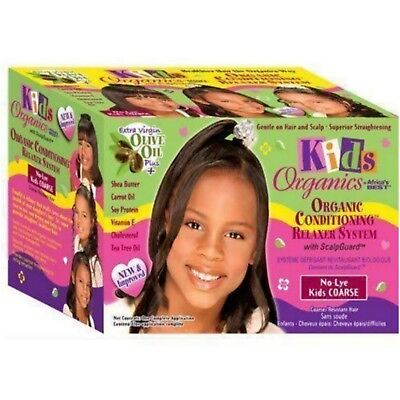 Africa's Best Kids Organics Olive Oil Relaxer - Super for Coarse hair -AUS