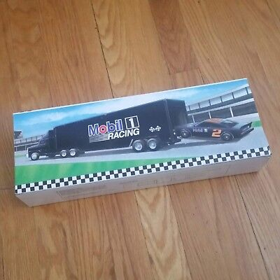 Mobil, Toy Race Car Carrier, Limited Edition, 2nd in a Series, New in Box, Mint