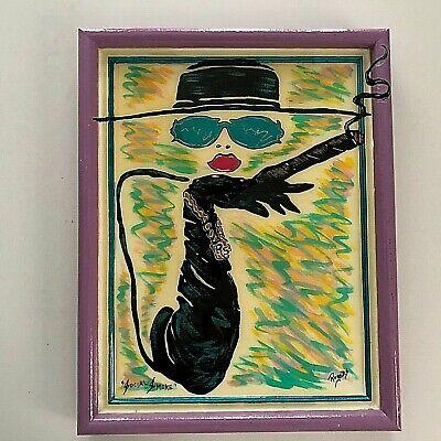 Social Smoke Boom-Art Rogers Studios Orlando FL Women Smoking Plastic