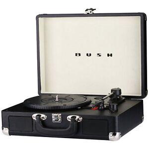 Bush Classic Retro Turntable - Black KTS-601