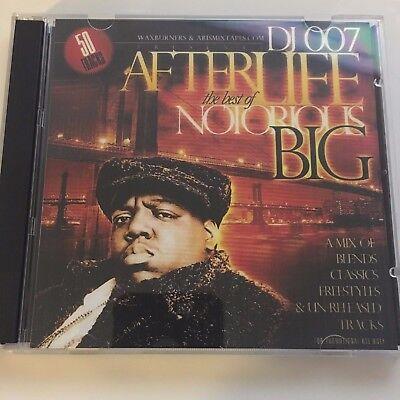 DJ 007 The Afterlfife Best of Notorious BIG NYC Hip Hop Mixtape Mix CD Rap