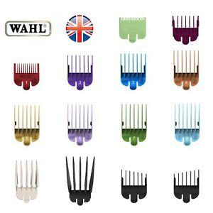 Genuine Wahl Clipper Comb guards number 0.5,1,1.5,2,3,4,5,6,7,8,10,12,L+R Ear