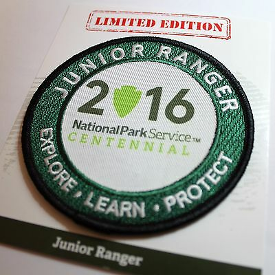 Junior Ranger Patch Official Centennial National Park Souvenir 2016