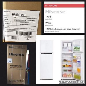 Brand New Fridge Freezer Hisense 230L $350 Pickup Springwood Springwood Logan Area Preview