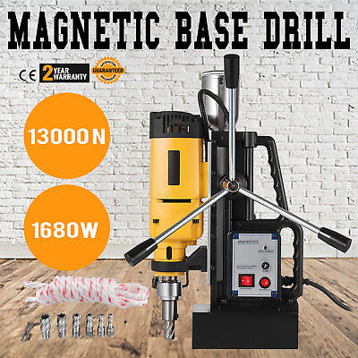 Md50 Magnetic Drill Press Set Annular Cutter Kit Mag Drill 7pcs 2 Hss Cutter